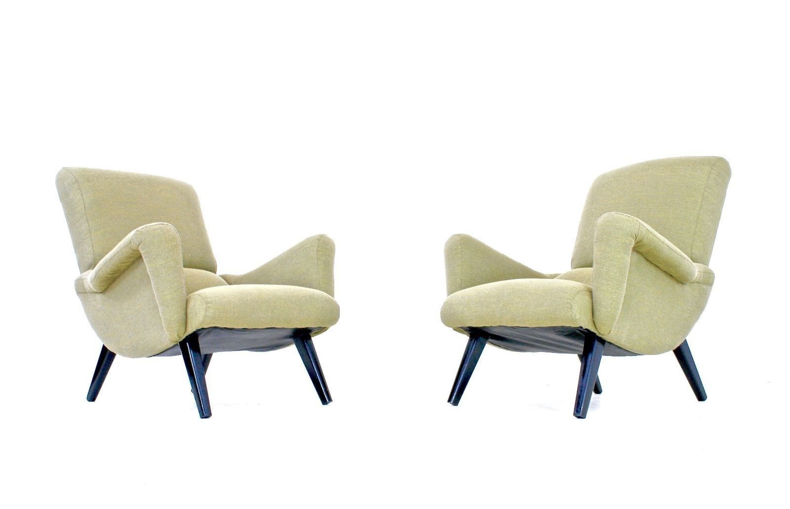 Mid Century Armchairs From G Plan 1960s Set Of 2 For