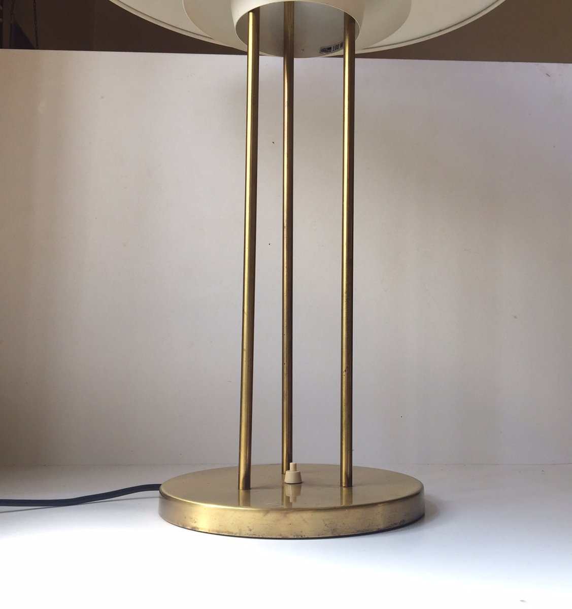 Danish PH5 Brass Table Lamp by Poul Henningsen for Louis ...
