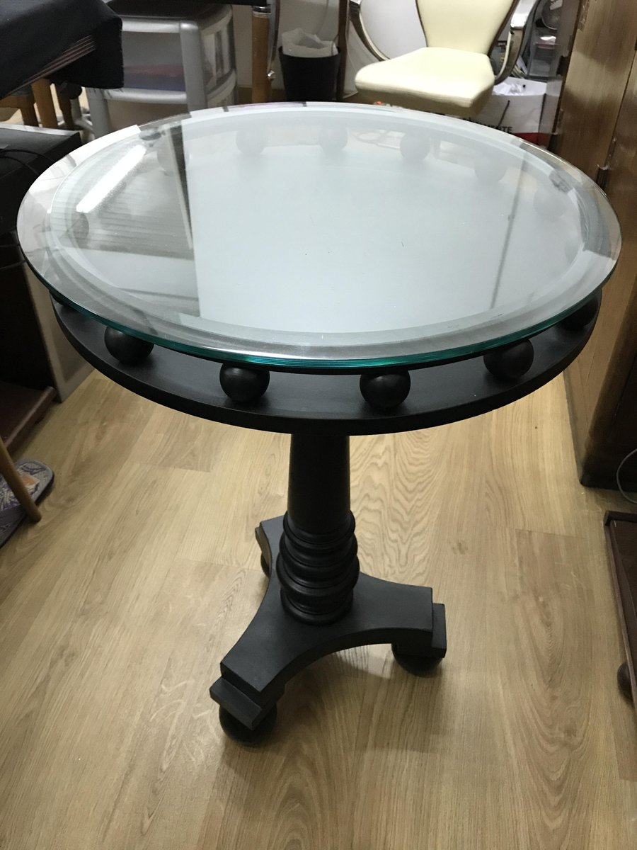 italian art deco black side table 1930s for sale at pamono. Black Bedroom Furniture Sets. Home Design Ideas