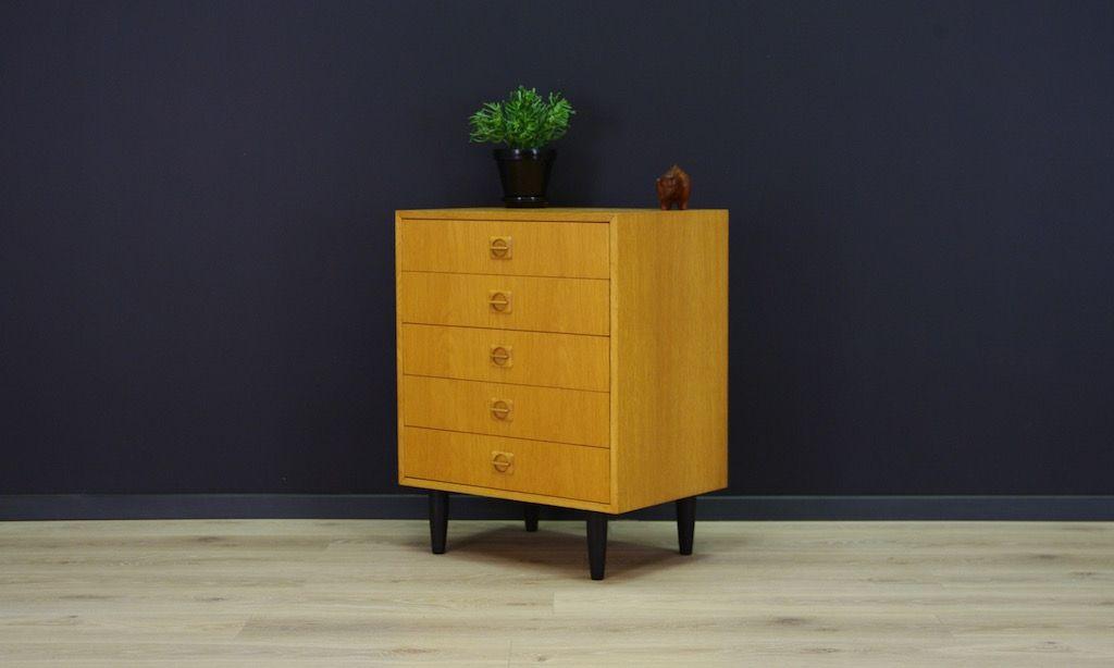 d nische mid century eschenholz kommode bei pamono kaufen. Black Bedroom Furniture Sets. Home Design Ideas