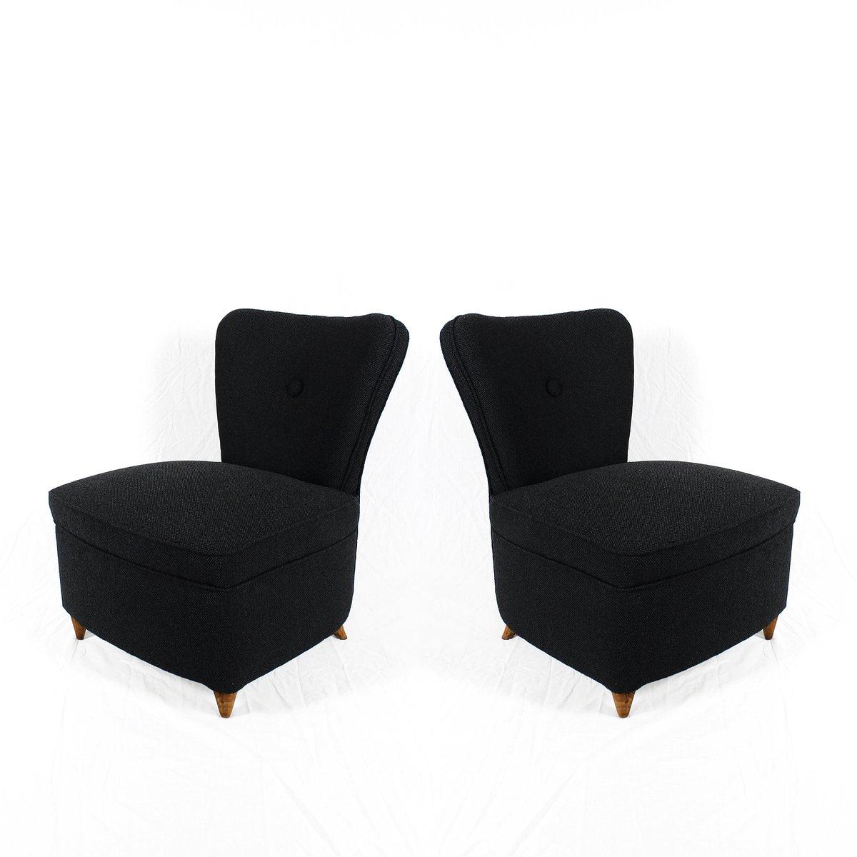 kleine schlafzimmer sessel 1940er 2er set bei pamono kaufen. Black Bedroom Furniture Sets. Home Design Ideas