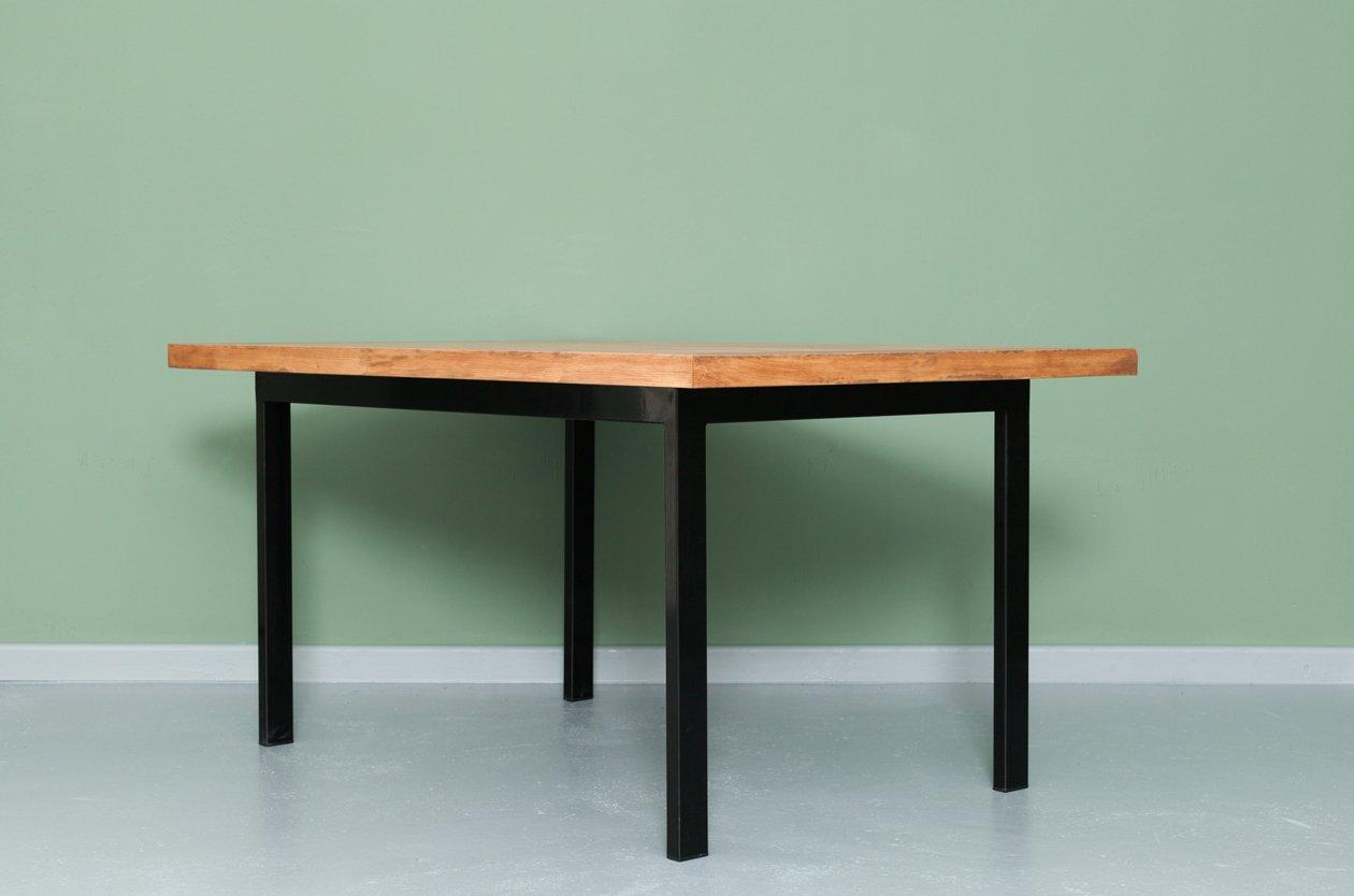 Recycelter onderbanken tisch aus bauholz stahl von for Design tisch stahl