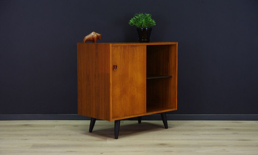 d nische moderne vintage teak kommode bei pamono kaufen. Black Bedroom Furniture Sets. Home Design Ideas