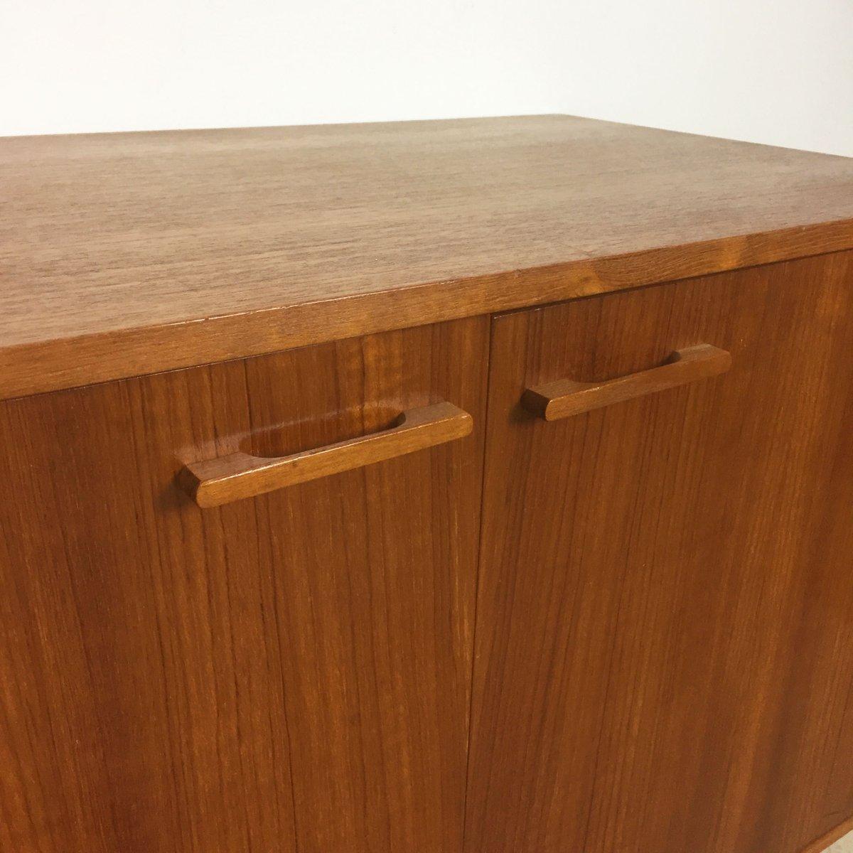 Teak cabinets by kai kristiansen for feldballes for 1960 kitchen cabinets for sale