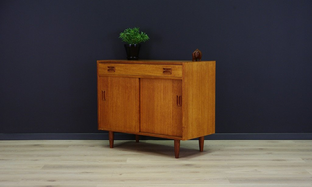 mid century teak kommode von niels j thorso bei pamono kaufen. Black Bedroom Furniture Sets. Home Design Ideas