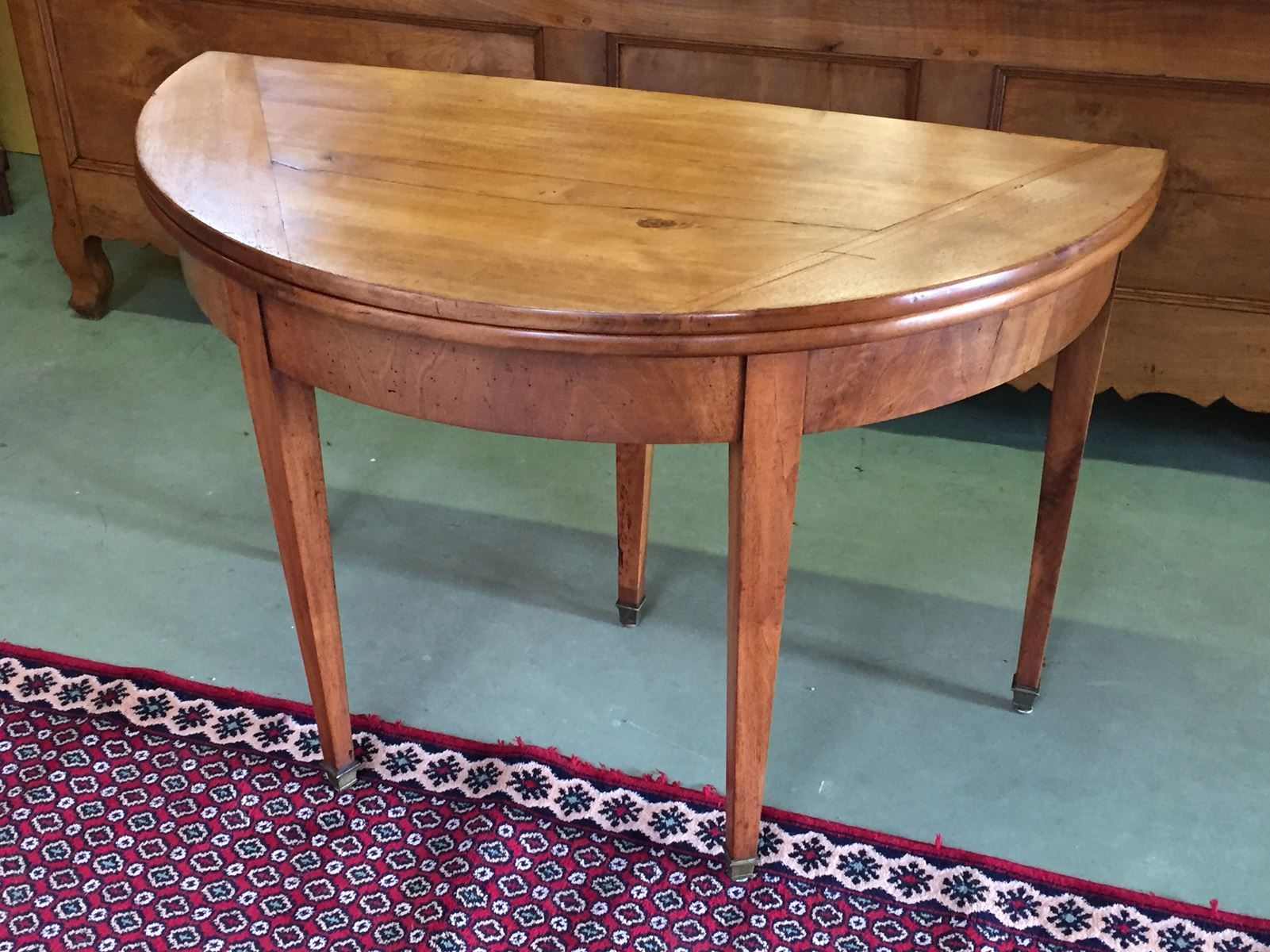19th century half moon shaped table for sale at pamono for 1 2 moon table