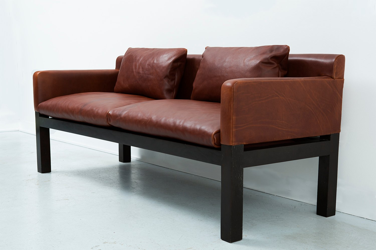 mid century sofa by saladino for dunbar for sale at pamono