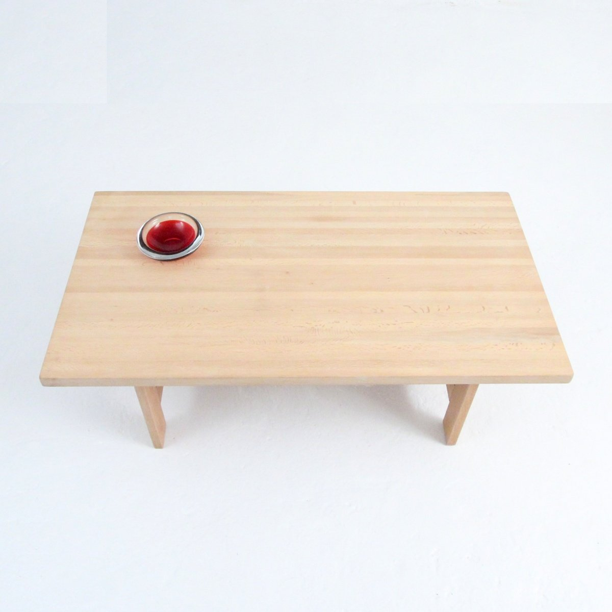 Solid Oak Coffee Table From Laboremus 1970s For Sale At Pamono