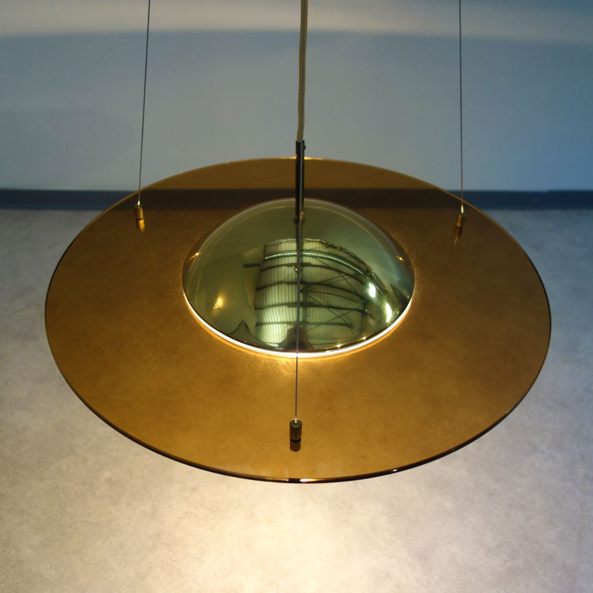 Large Pendant Lamp From Hustadt 1970s For Sale At Pamono