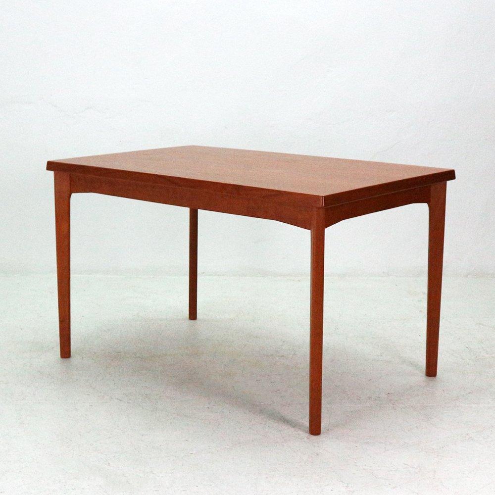 Danish Mid Century Extendable Teak Dining Table by Henning  : danish mid century extendable teak dining table by henning kjaernulf 1960s 8 from www.pamono.com size 1000 x 1000 jpeg 603kB