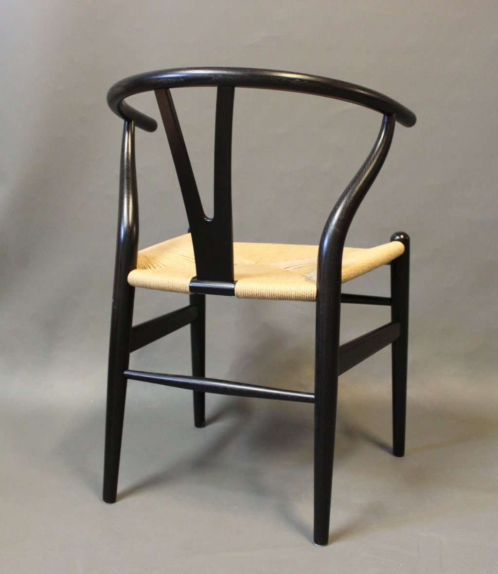 Vintage Model Ch24 Y Chairs By Hans J Wegner For Carl Hansen Son Set Of 4 For Sale At Pamono