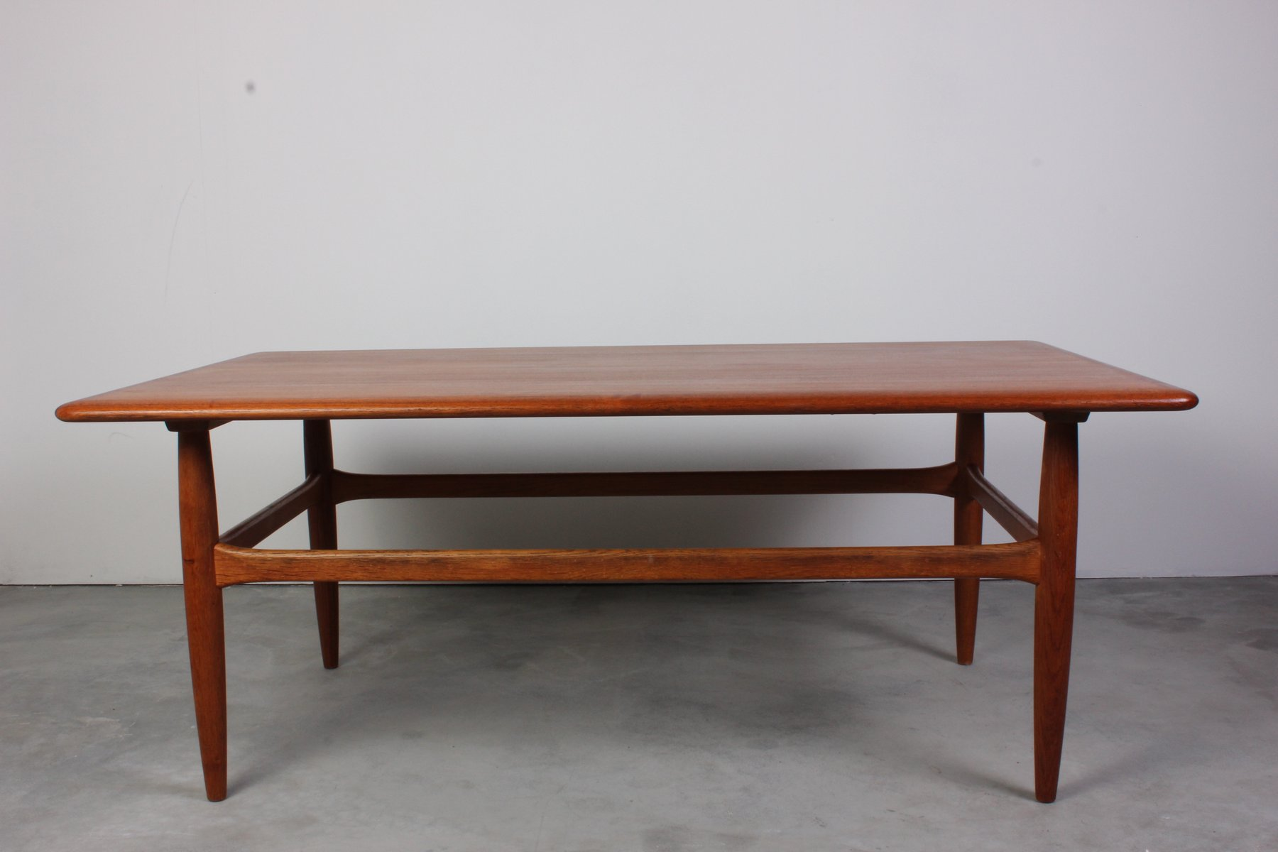 Vintage Teak Coffee Table by Kurt ˜stervig for Jason M¸bler for