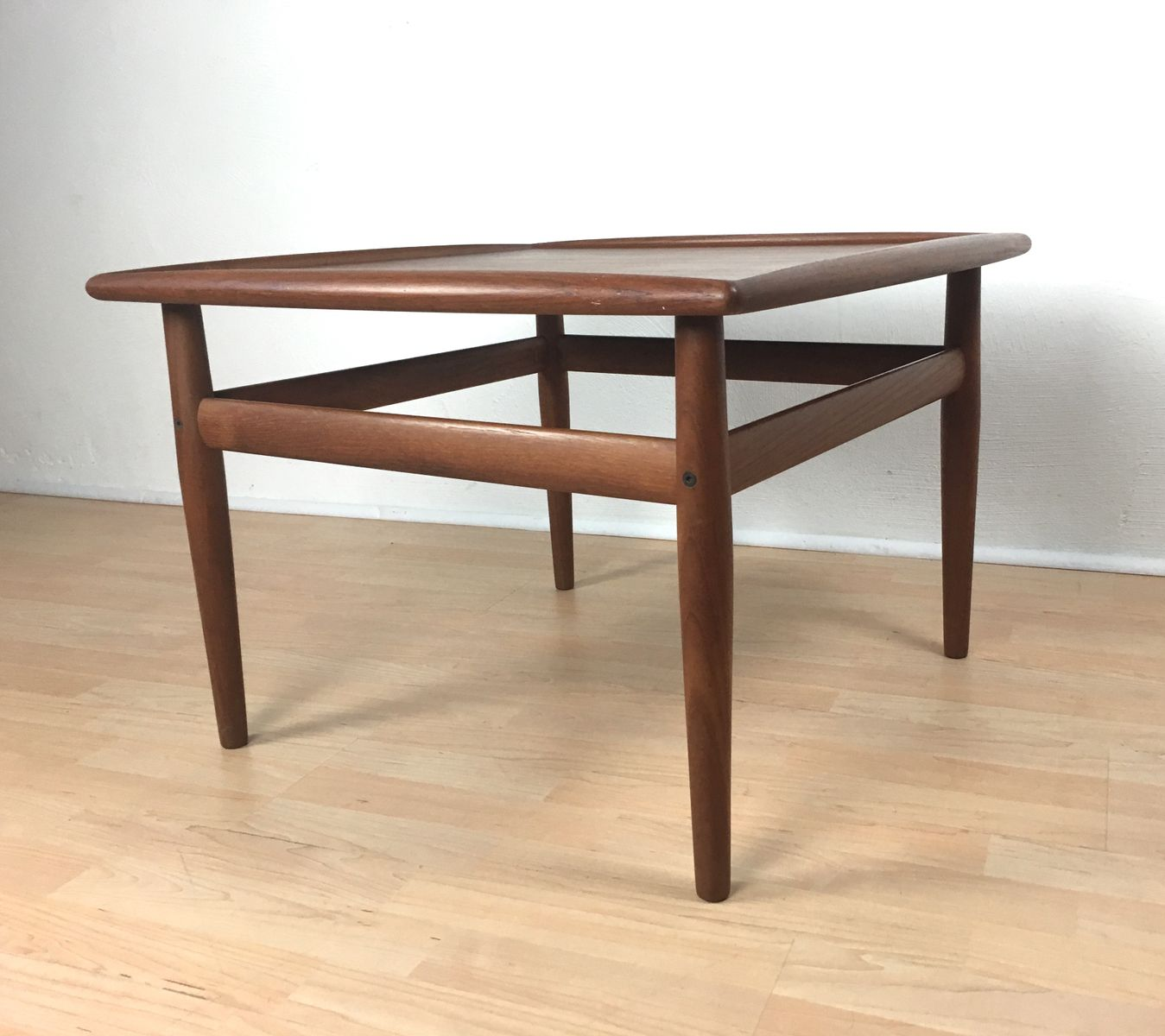 Vintage Teak Coffee Table By Grete Jalk For Glostrup M Belfabrik For Sale At Pamono