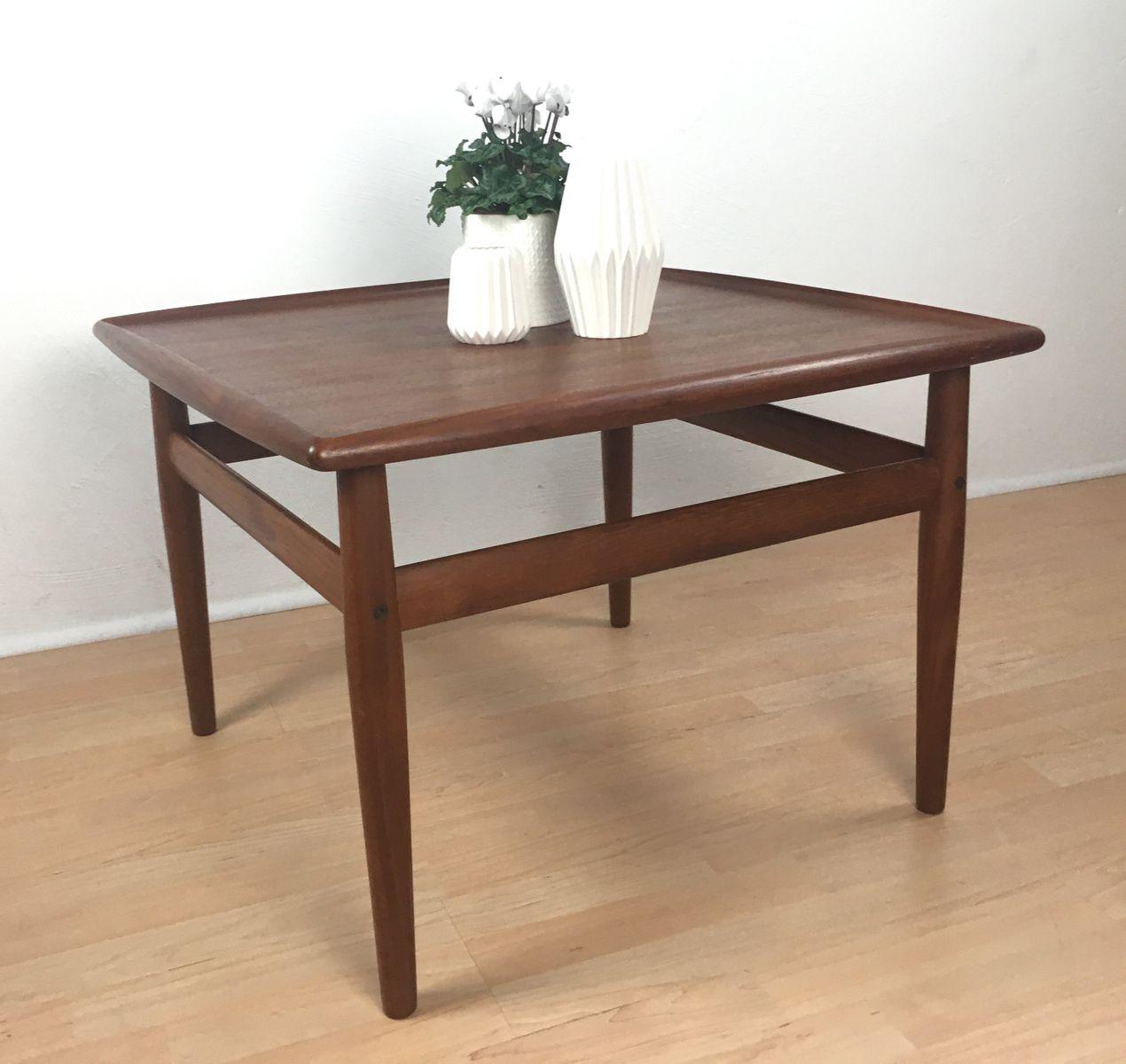 Vintage Teak Coffee Table By Grete Jalk For Glostrup