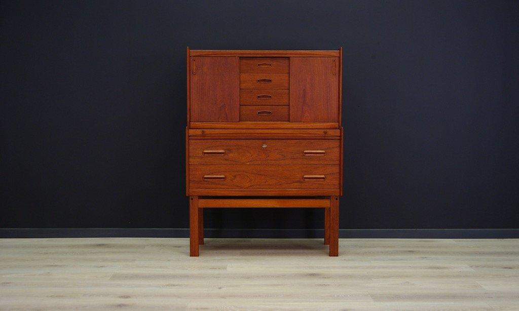 d nischer mid century teak furnier sekret r bei pamono kaufen. Black Bedroom Furniture Sets. Home Design Ideas