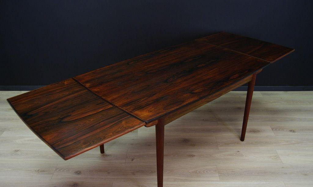 Vintage danish modern palisander furnier tisch bei pamono for Palisander tisch