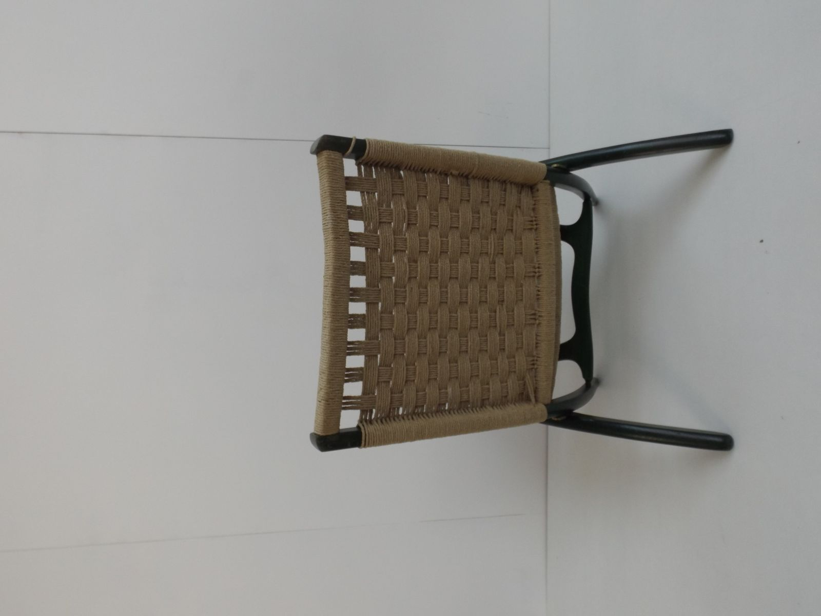 Vintage Rope Folding Chair by Ebert Wels for sale at Pamono