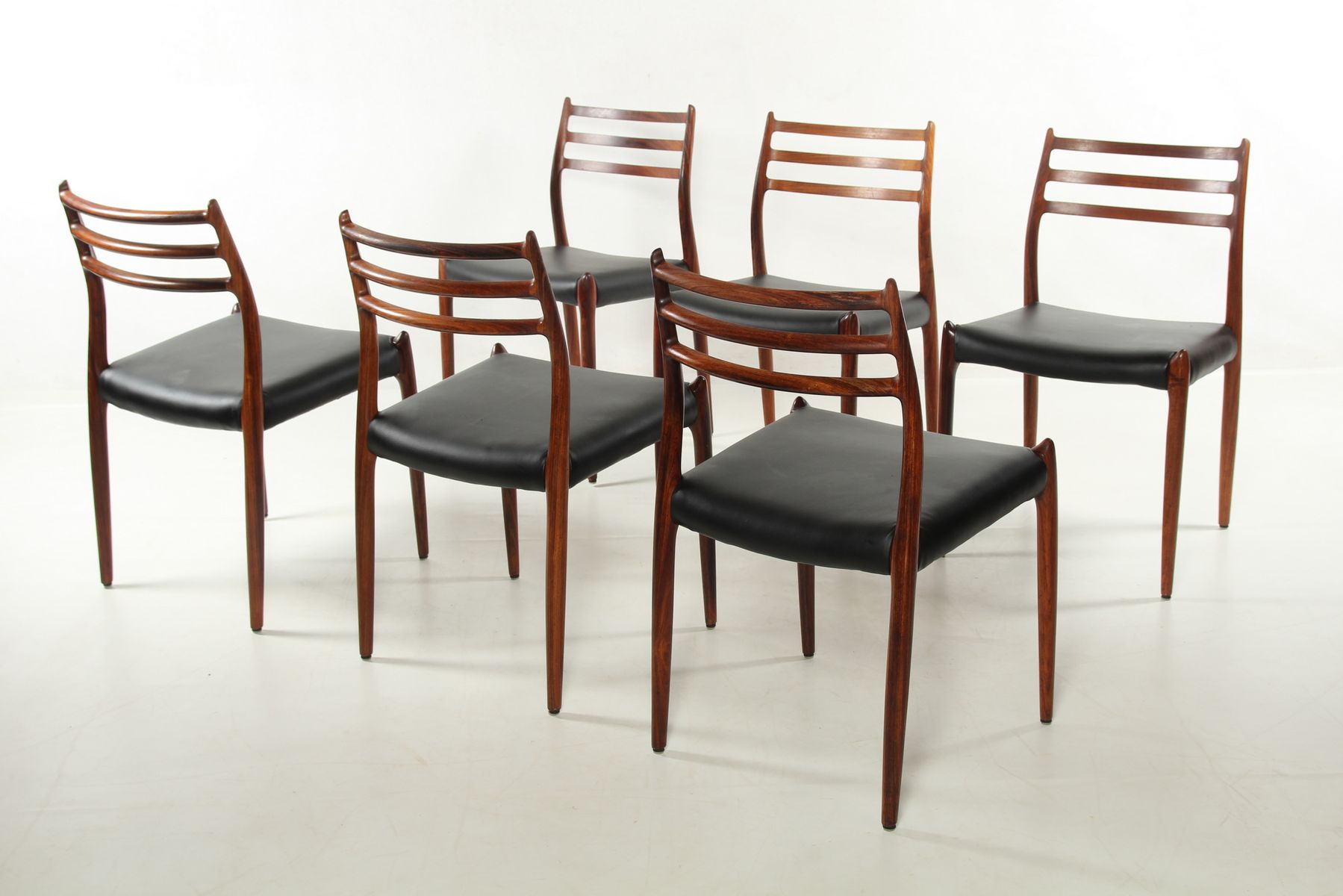 Model 78 Rosewood Chairs by NO M248ller for JL M248llers  : model 78 rosewood chairs by n o moller for j l mollers 1970s set of 6 16 from www.pamono.com size 1800 x 1200 jpeg 110kB