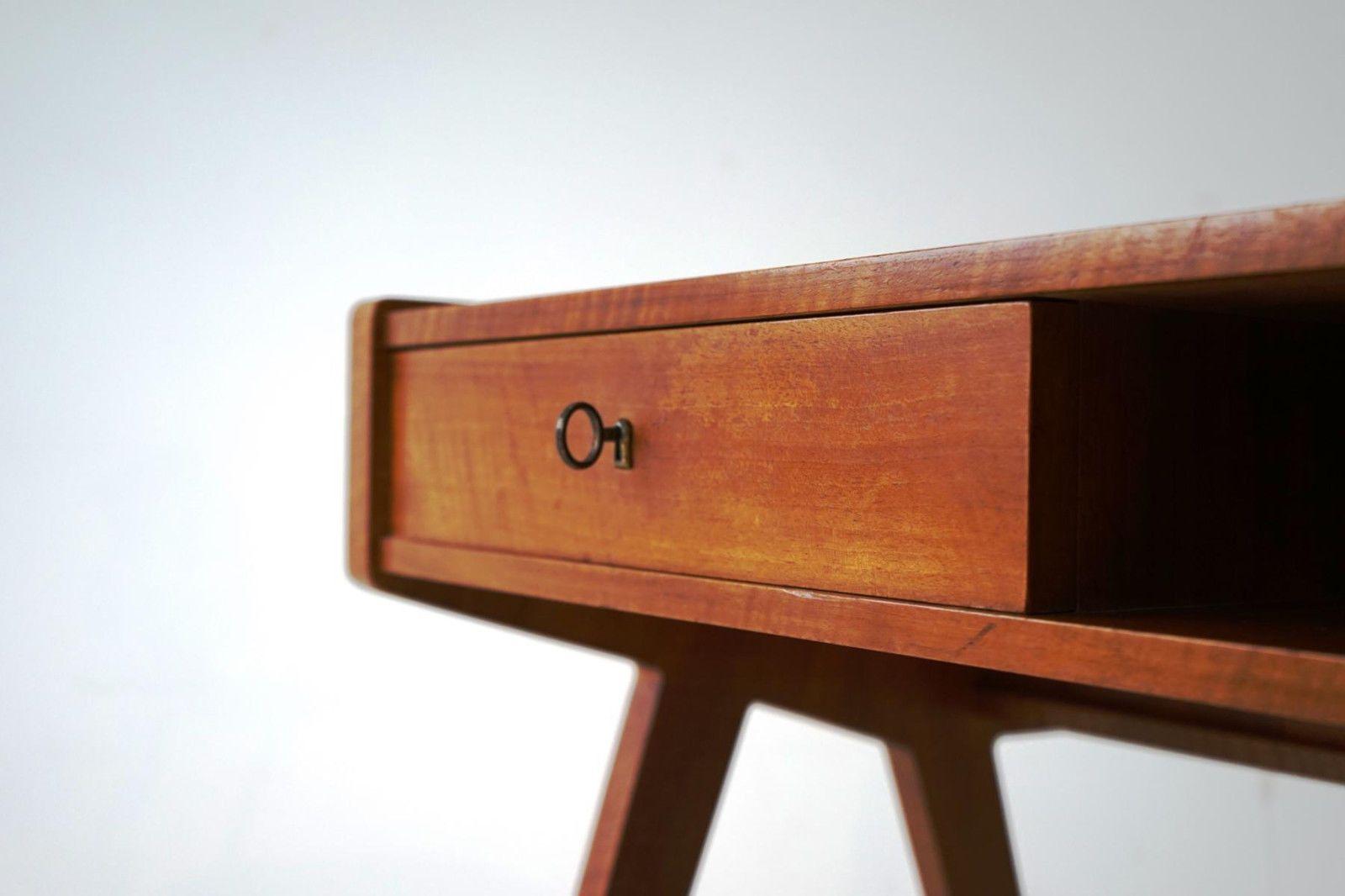 deutscher mid century schreibtisch von helmut magg f r deutsche werkst tten bei pamono kaufen. Black Bedroom Furniture Sets. Home Design Ideas