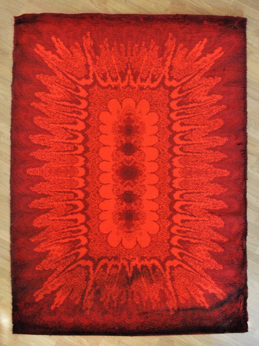 Vintage Wool Rug 9