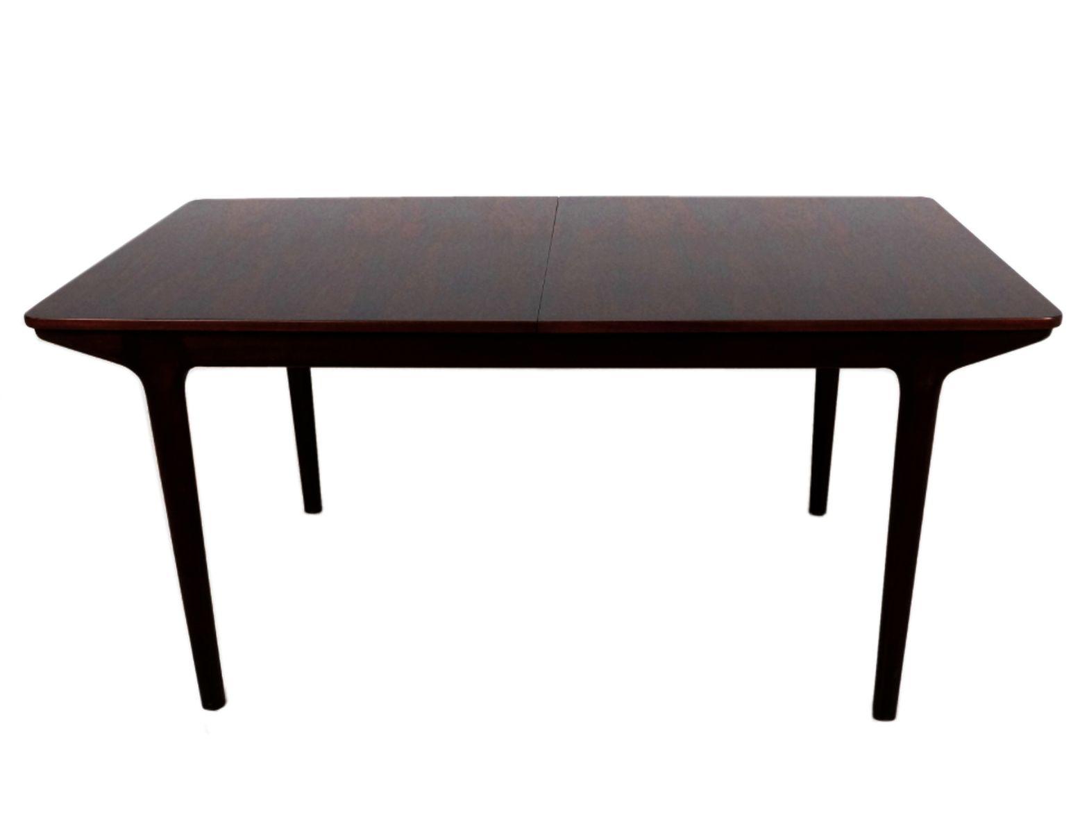 table de salle manger 12 places mid century en palissandre par tom robertson pour mcintosh en. Black Bedroom Furniture Sets. Home Design Ideas