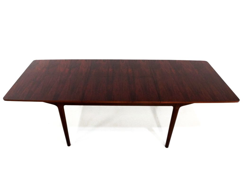 mid century 12 seater rosewood dining table by tom