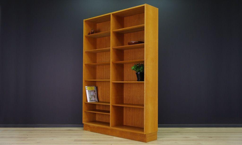 d nisches vintage regal aus esche von poul hundevad bei pamono kaufen. Black Bedroom Furniture Sets. Home Design Ideas