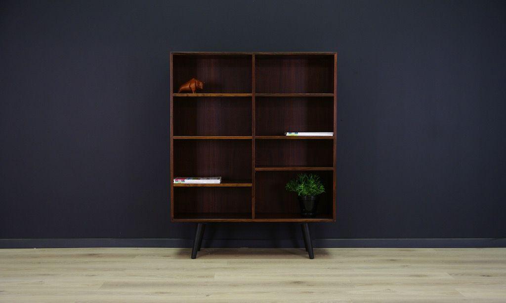 d nisches vintage b cherregal aus mahagoni furnier von bramin bei pamono kaufen. Black Bedroom Furniture Sets. Home Design Ideas