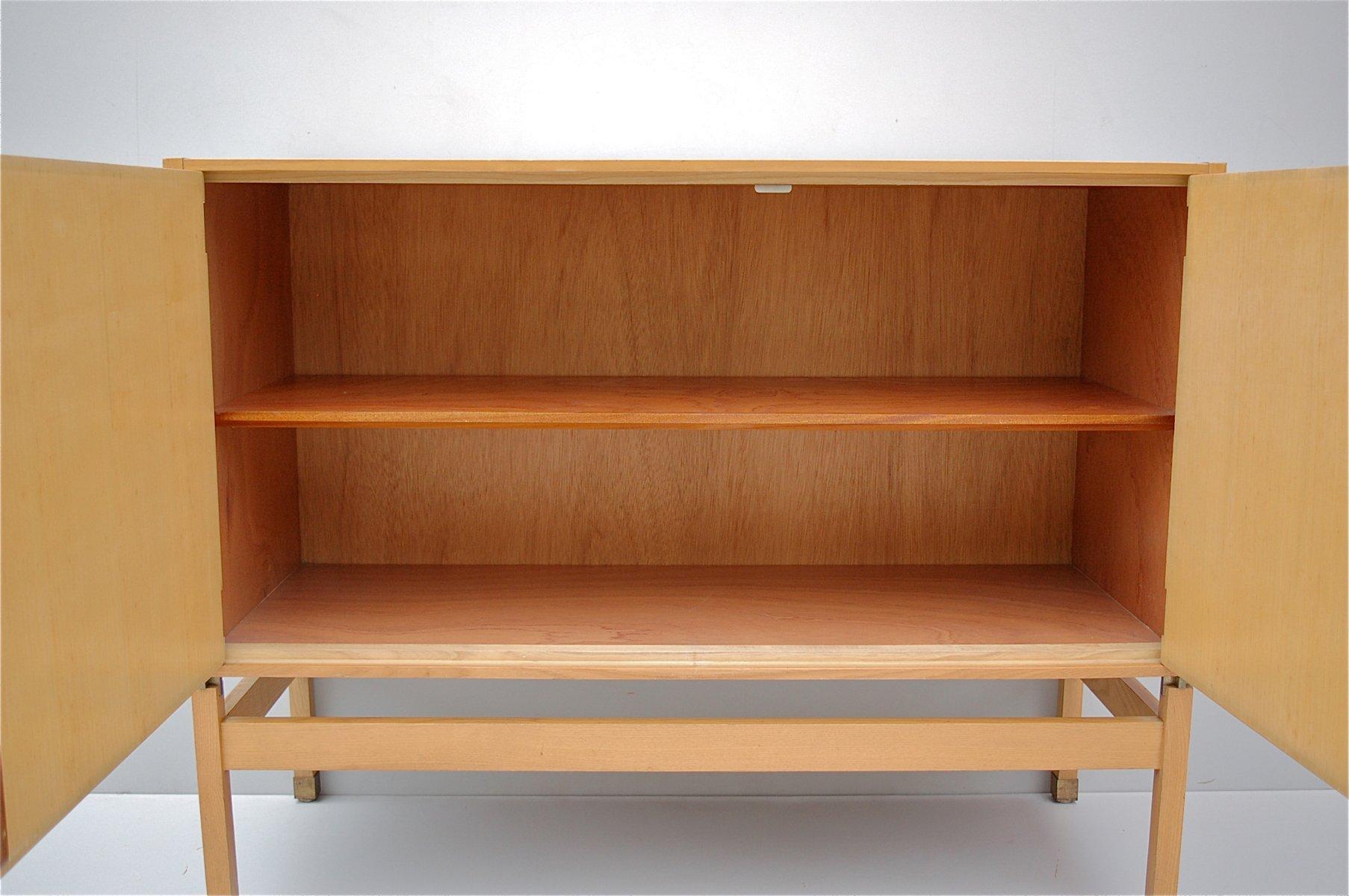 zitronenbaum furnier sideboard von pieter de bruyne 1959. Black Bedroom Furniture Sets. Home Design Ideas