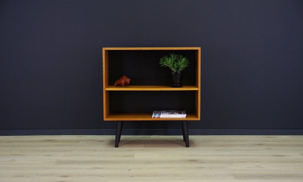d nisches vintage esche furnier regal bei pamono kaufen. Black Bedroom Furniture Sets. Home Design Ideas