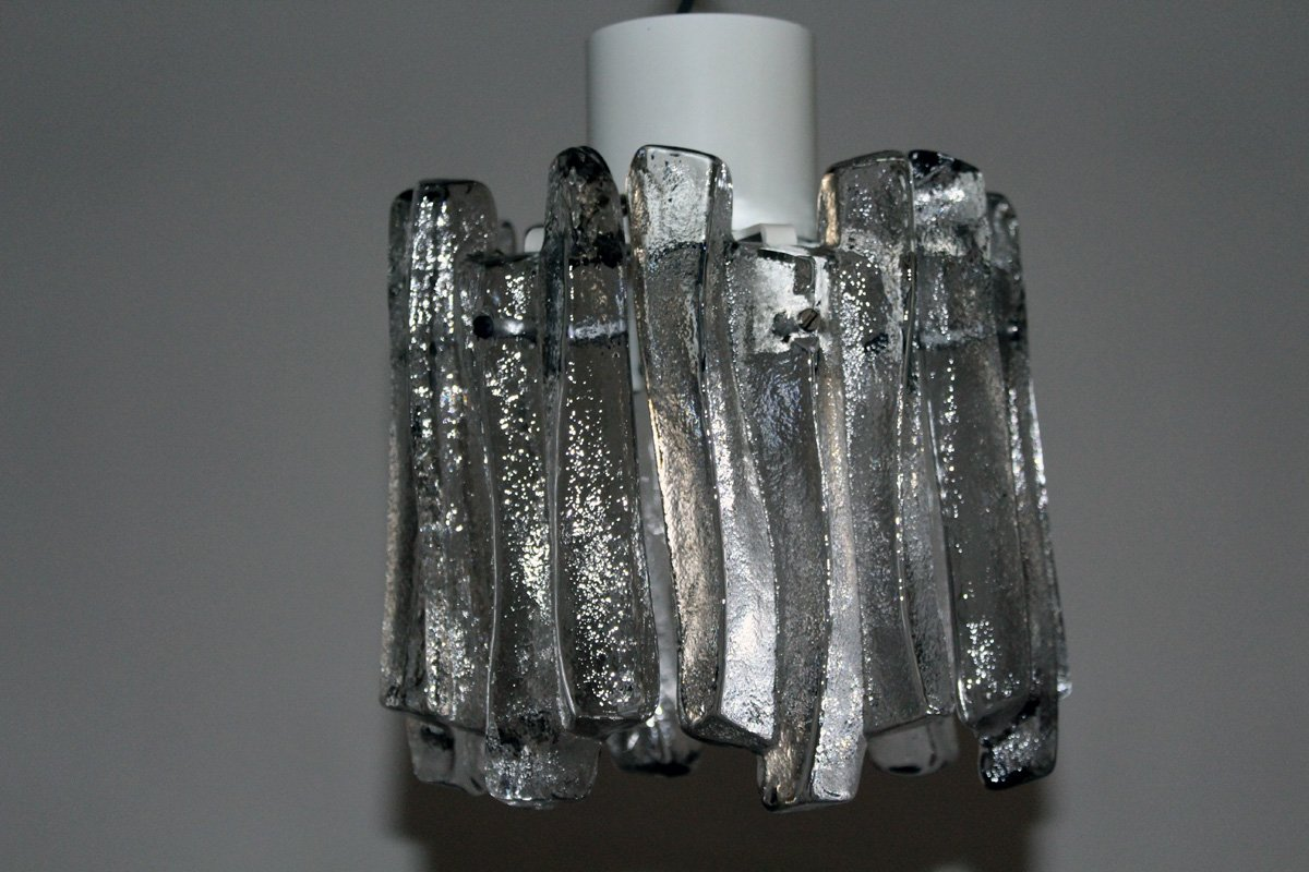 Glass Pendant Lamp From Kalmar 1960s For Sale At Pamono