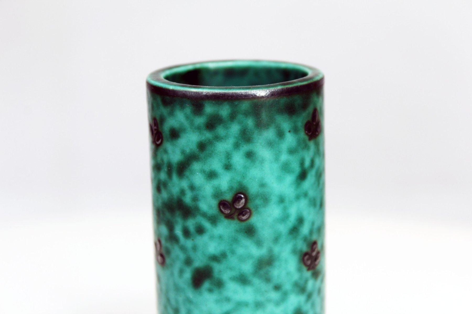 Vintage green vase from gustavsberg for sale at pamono vintage green vase from gustavsberg 6 27800 price per piece reviewsmspy