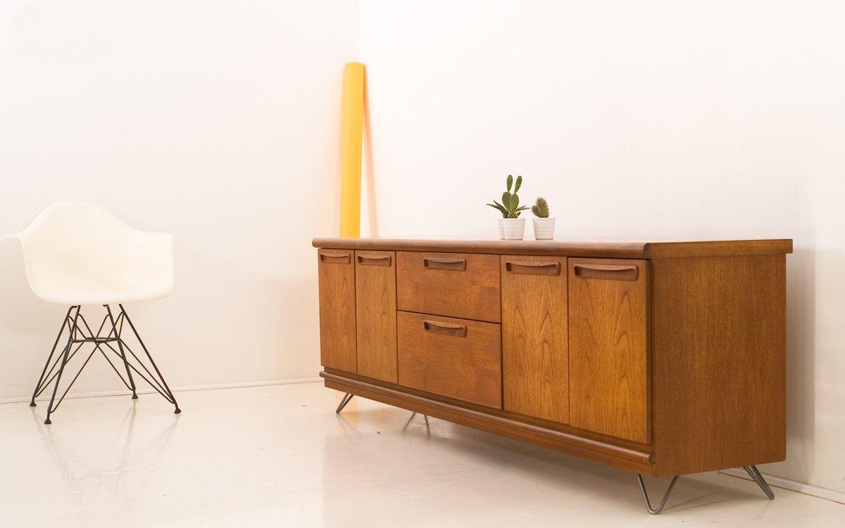 vintage teak sideboard und multimedia schrank von meredew. Black Bedroom Furniture Sets. Home Design Ideas