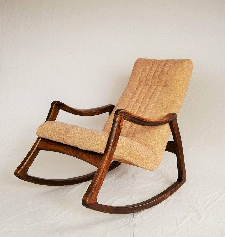 Vintage schaukelstuhl von ton 1960er bei pamono kaufen - Schaukelstuhl retro ...