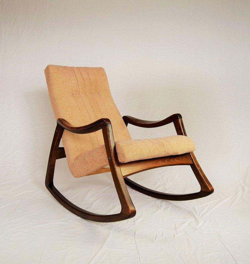 Vintage schaukelstuhl von ton 1960er bei pamono kaufen for Schaukelstuhl englisch