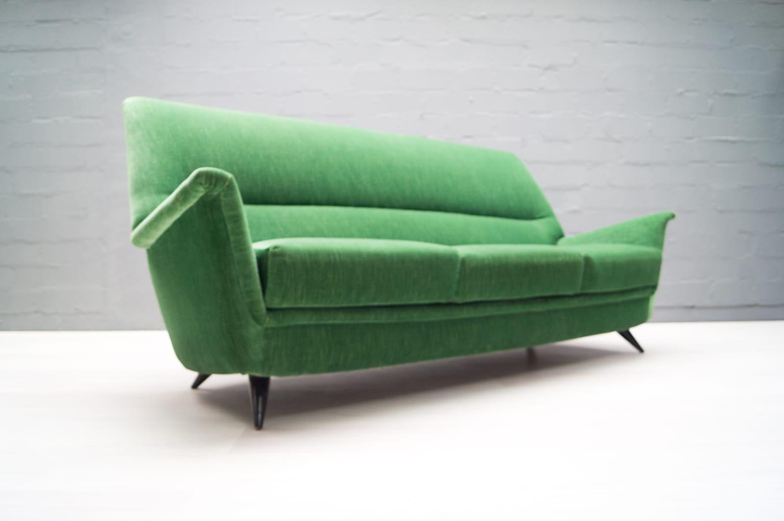 Mobilier de salon vert pomme italie 1950s en vente sur for Mobilier de salon