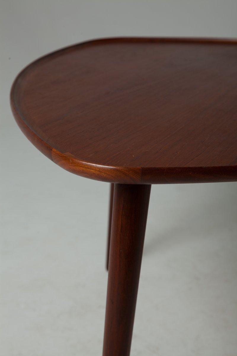 Danish three legged triangular teak coffee table 1960s for sale danish three legged triangular teak coffee table 1960s for sale at pamono geotapseo Images