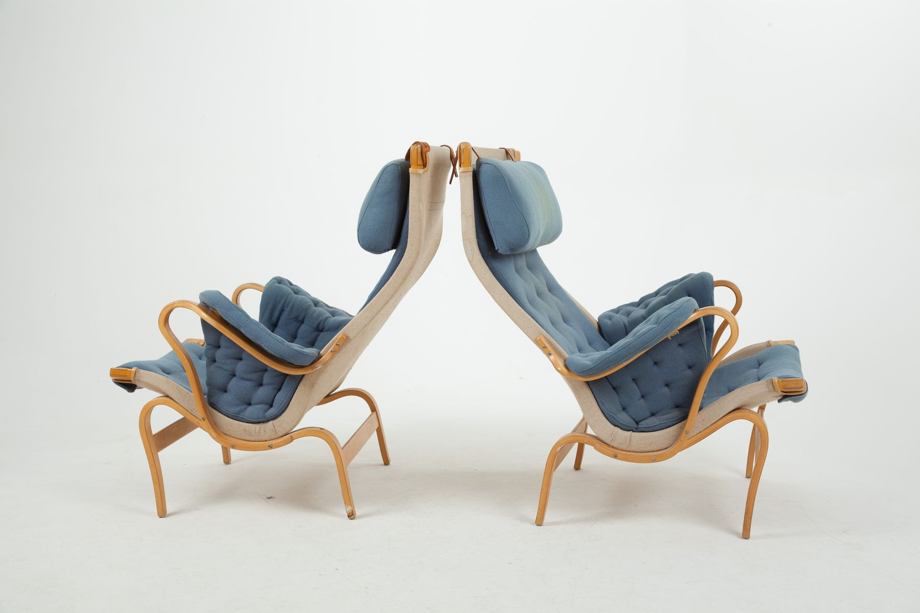 Pernilla Lounge Chair by Bruno Mathsson for Dux 1970s for sale at