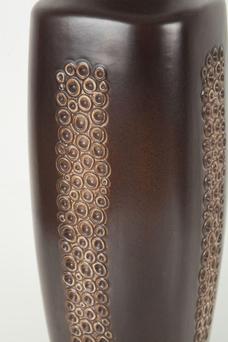 gro e keramikvase von ravnild 1960er bei pamono kaufen. Black Bedroom Furniture Sets. Home Design Ideas