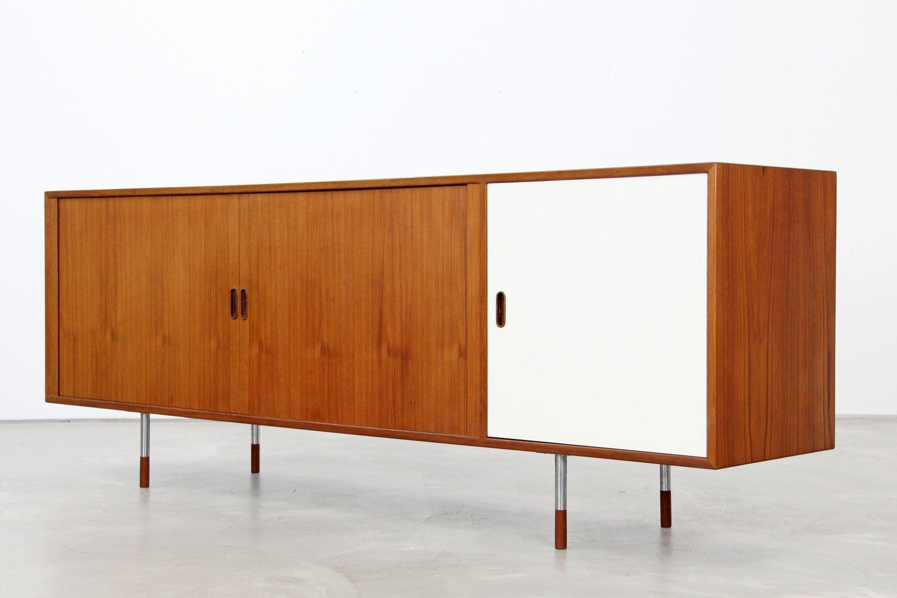 os36 teak sideboard by arne vodder for sibast 1960s for sale at pamono. Black Bedroom Furniture Sets. Home Design Ideas