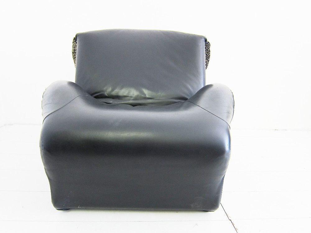 wink sessel von toshiyuki kita f r cassina bei pamono kaufen. Black Bedroom Furniture Sets. Home Design Ideas