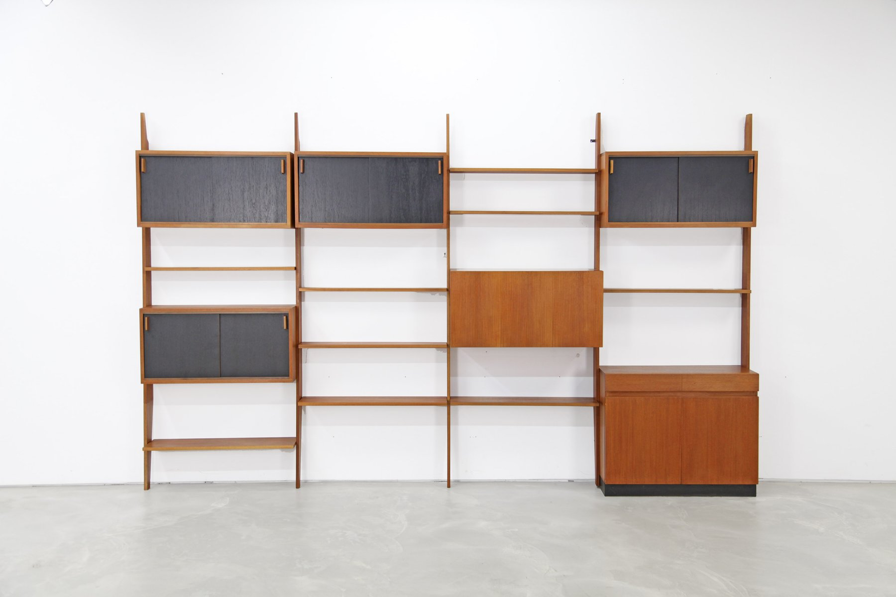 Mid-Century Shelving System by Dieter Waeckerlin for Behr Mbel, 1960s