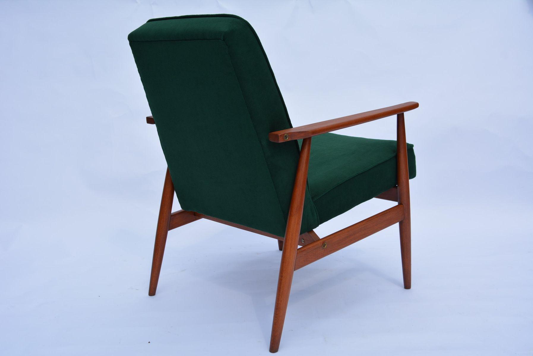polnischer gr ner sessel von h lis 1960er bei pamono kaufen. Black Bedroom Furniture Sets. Home Design Ideas