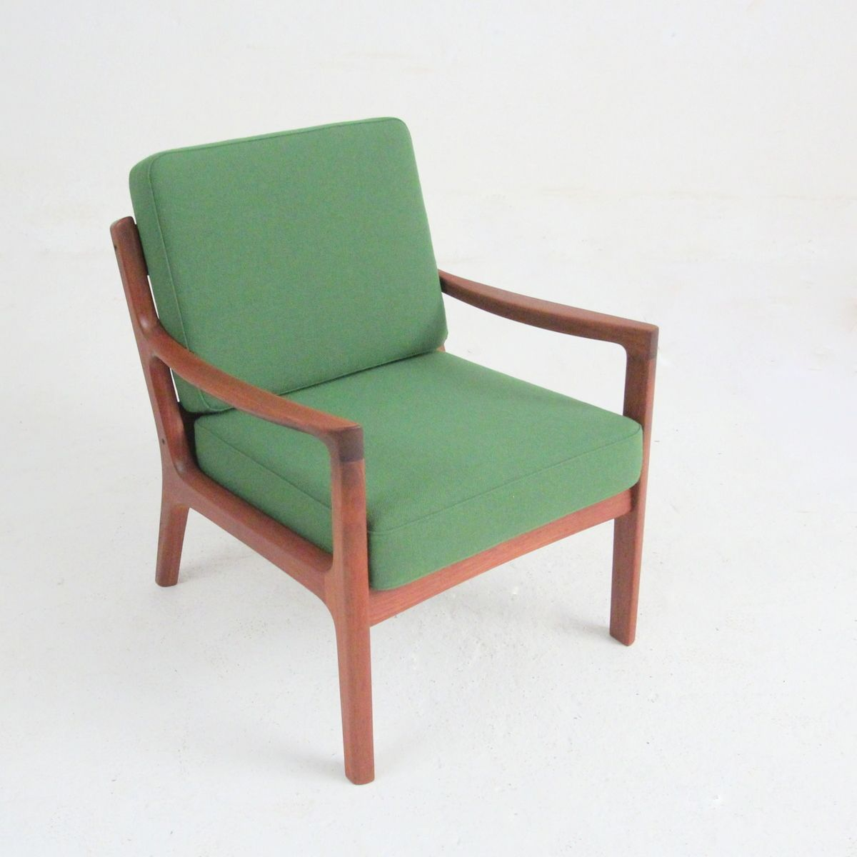 Model 169 Teak Armchair by Ole Wanscher for sale at Pamono