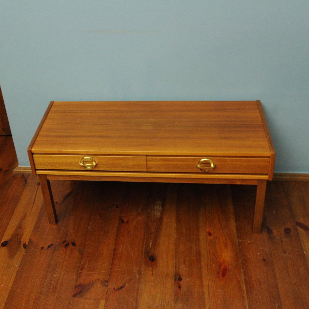 kleiner teak tisch 1960er bei pamono kaufen. Black Bedroom Furniture Sets. Home Design Ideas