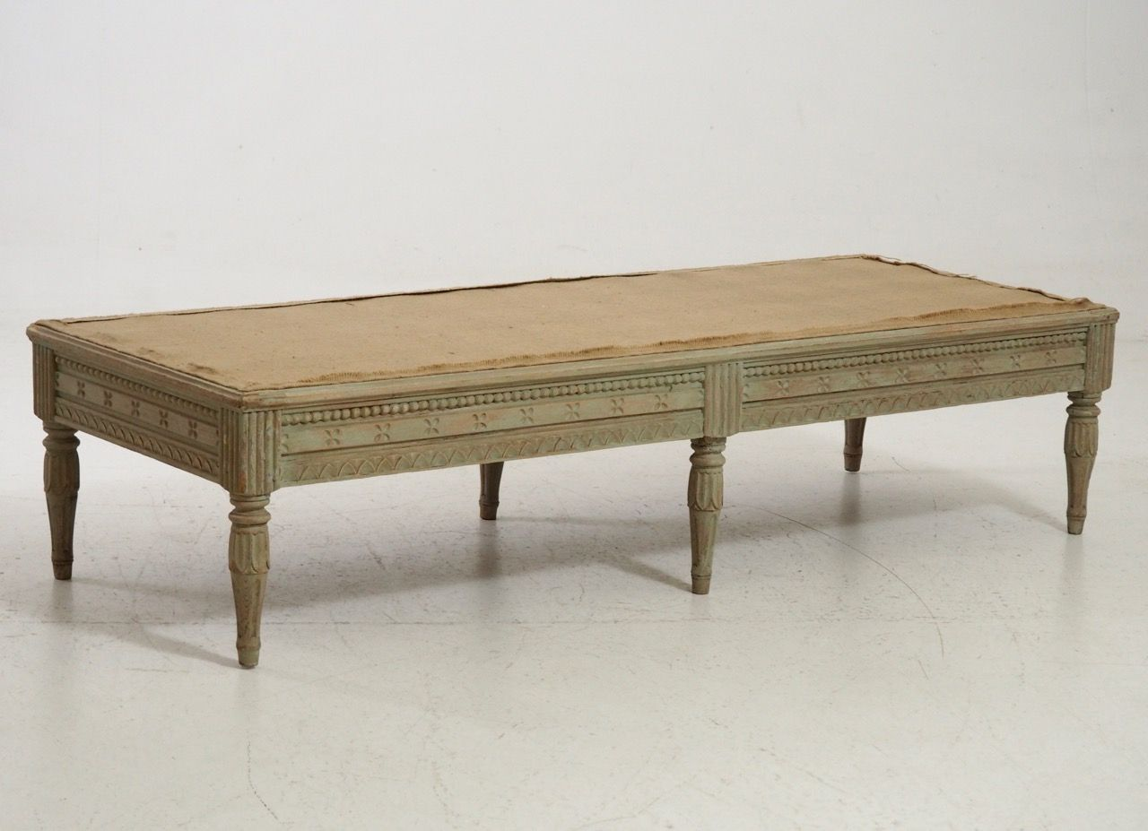 18th century free standing wooden bench for sale at pamono Wooden bench for sale