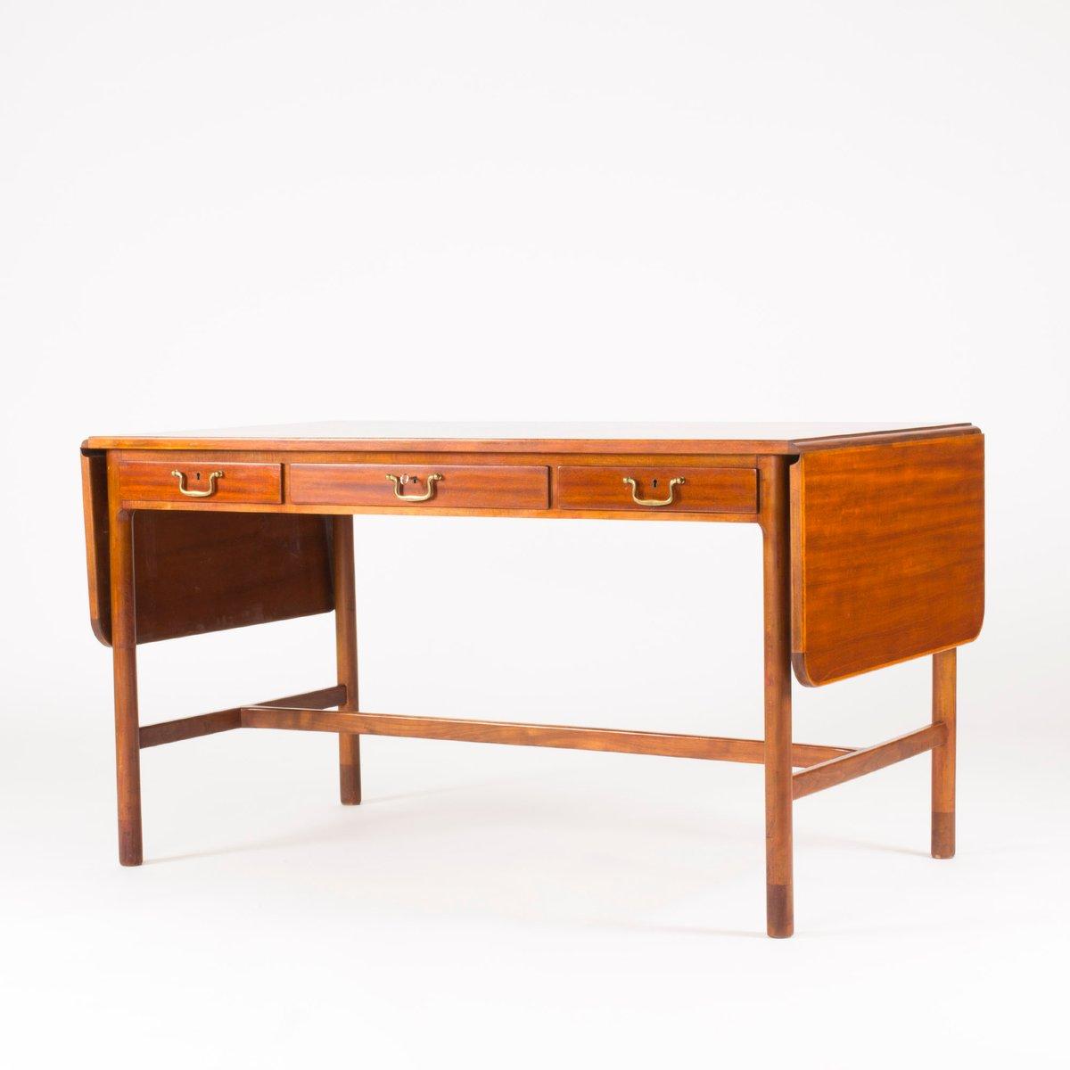 mahagoni schreibtisch von josef frank f r svenskt tenn 1950er bei pamono kaufen. Black Bedroom Furniture Sets. Home Design Ideas
