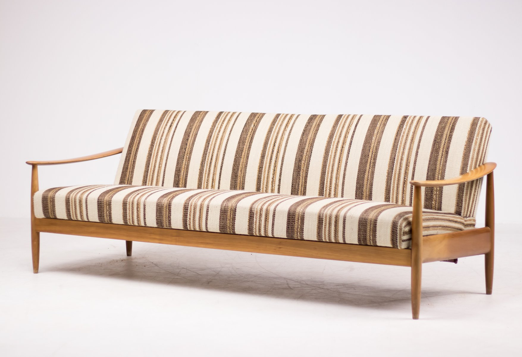 skandinavische mid century sitzgruppe mit schlafsofa bei pamono kaufen. Black Bedroom Furniture Sets. Home Design Ideas