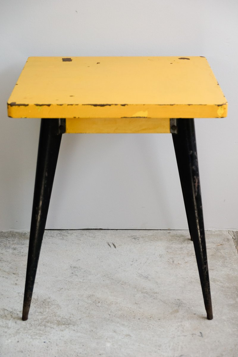 Model 55 table by xavier pauchard for tolix 1950s for for 99 normal table