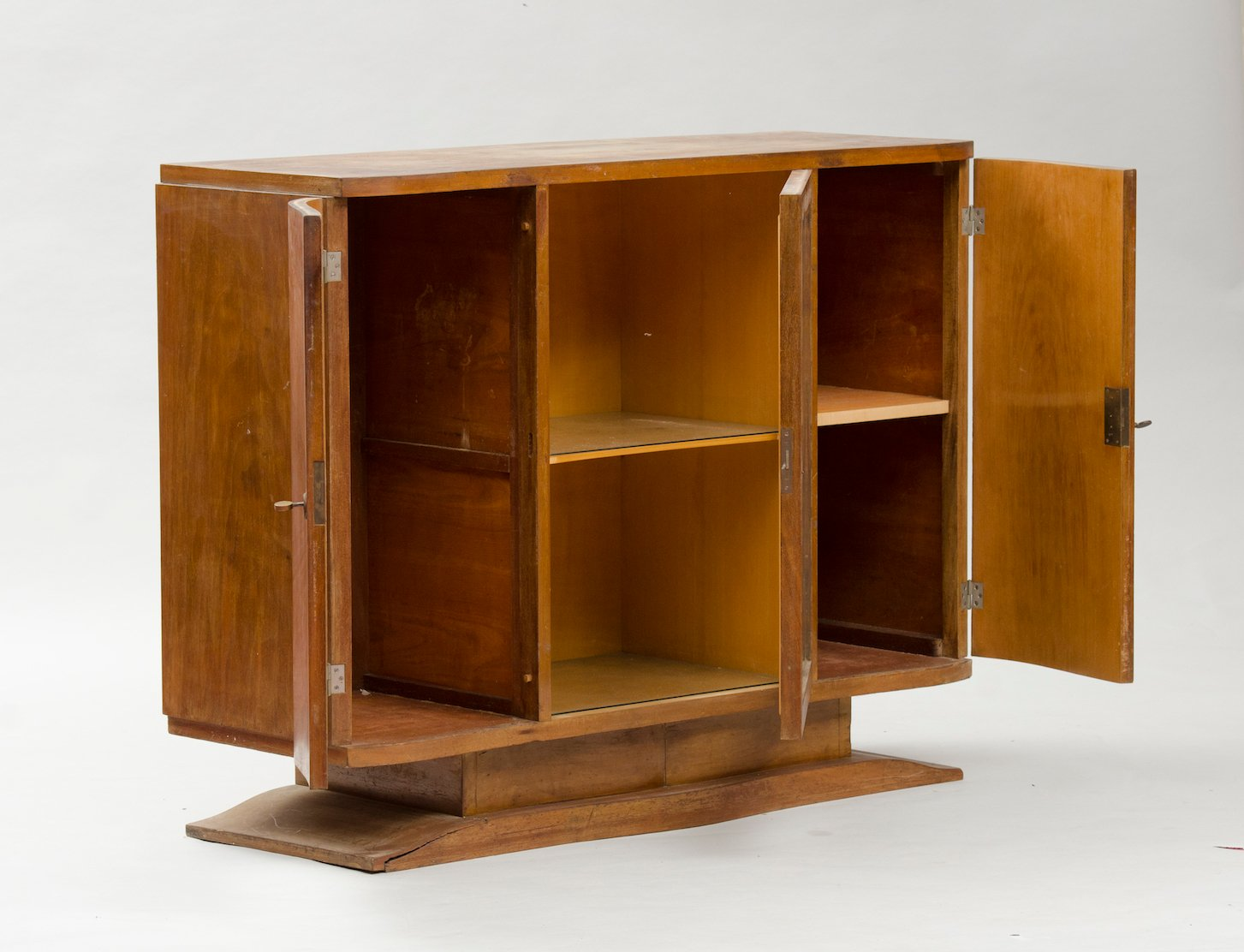Small vintage art deco sideboard for sale at pamono - Deko sideboard ...